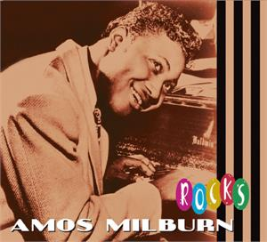 AMOS ROCKS - Amos MILBURN - 50's Rhythm 'n' Blues CD, BEAR FAMILY