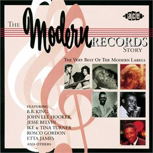 MODERN RECORDS STORY - VARIOUS ARTISTS - 50's Rhythm 'n' Blues CD, ACE