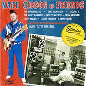The Starday Sessions - Nate Gibson & Friends - NEO ROCKABILLY CD, GOOFIN
