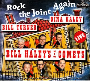 ROCK THE JOINT AGAIN - HALEY'S NEW COMETS - FEATURING GINA HALEY - NEO ROCK 'N' ROLL CD, 33RD STREET