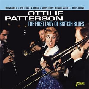 The First Lady of British Blues - Ottilie PATTERSON - BRITISH R'N'R CD, JASMINE