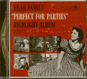 PERFECT FOR PARTIES - Various Artists - HILLBILLY CD, BEAR FAMILY
