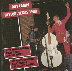 TALYOR, TEXAS 1988 - RAY CAMPI - NEO ROCKABILLY CD, BEAR FAMILY