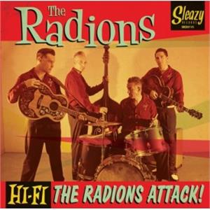 The Radions Attack - RADIONS - NEO ROCKABILLY CD, SLEAZY