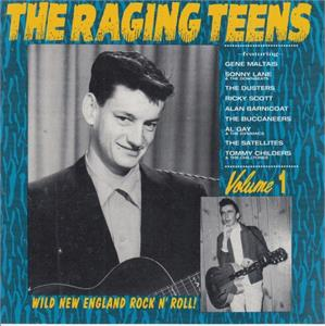 RAGING TEENS VOL 1 - Various Artists - 1950'S COMPILATIONS CD, NORTON
