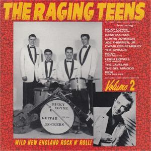 RAGING TEENS VOL 2 - Various Artists - 1950'S COMPILATIONS CD, NORTON