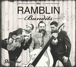 ON A HILL - RAMBLING BANDITS - NEO ROCKABILLY CD, RHYTHM BOMB