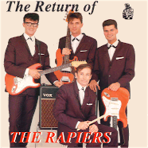 THE RETURN OF - RAPIERS - TEDDY BOY R'N'R CD, FURY
