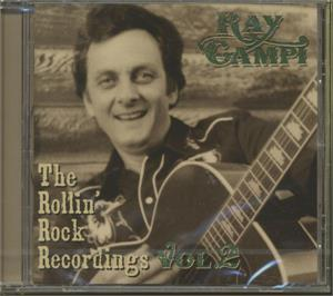 Rollin Rock Collection Vol 2 - RAY CAMPI - NEO ROCKABILLY CD, PART