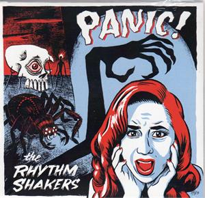 Panic - Rhythm Shakers - NEO ROCKABILLY CD, WHITEHOUSE