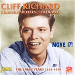 Move It! - The Early Years 1958-1959 (2CD's) - Cliff Richard - BRITISH R'N'R CDs, JASMINE