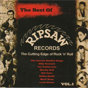 BEST OF RIPSAW RECORDS - VARIOUS ARTISTS - NEO ROCKABILLY CD, PART
