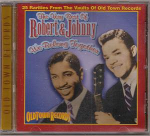VERY BEST OF - ROBERT AND JOHNNY - DOOWOP CD, COLLECTABLES