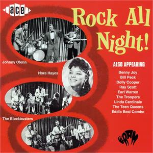 ROCK ALL NIGHT (Film soundtrack +) - Various Artists - 1950'S COMPILATIONS CD, ACE