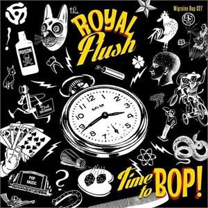 Time To Bop:Rock To The Boogie - Royal Flush - Migraine VINYL, MIGRAINE