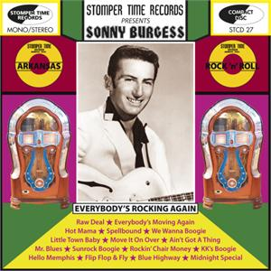 Everybody's Rockin Again - SONNY BURGESS - 50's Artists & Groups CDs, STOMPERTIME