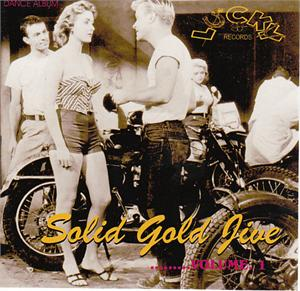 SOLID GOLD JIVE VOL 1 - VARIOUS - 1950'S COMPILATIONS CDs, LUCKY