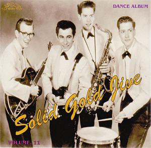 SOLID GOLD JIVE VOL11 - VARIOUS ARTISTS - 1950'S COMPILATIONS CD, LUCKY
