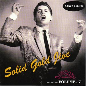 SOLID GOLD JIVE VOL 7 - VARIOUS - 1950'S COMPILATIONS CDs, LUCKY