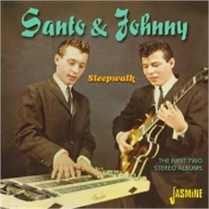 Sleepwalk - The First Two Stereo Albums - SANTO & JOHNNY - INSTRUMENTALS CD, JASMINE