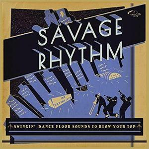 SAVAGE RHYTHMS - VARIOUS ARTISTS - 50's Rhythm 'n' Blues CD, STAG-O-LEE