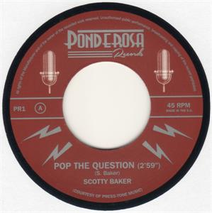 Pop the Question:Katerina - Scotty Baker - New Releases VINYL, Ponderosa