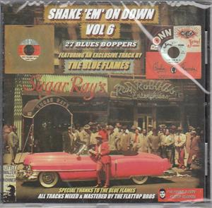 SHAKE EM ON DOWN VOL 6 - VARIOUS - 50's Rhythm 'n' Blues CDs, FLAT TOP