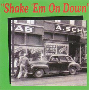 SHAKE EM ON DOWN VOL 1 - VARIOUS - 50's Rhythm 'n' Blues VINYL, FLAT TOP