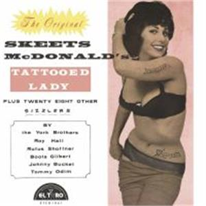 TATTOOED LADY - SKEETS MCDONALD & FRIENDS - 50's Rockabilly Comp CDs, EL TORO