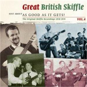 Great British Skiffle 4 - Just about as good as it gets! - VARIOUS - BRITISH R'N'R CDs, SMITH & CO