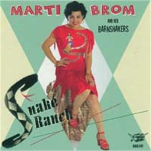 Snake Ranch - Marti Brom And The Barnshakers - NEO ROCKABILLY CD, GOOFIN