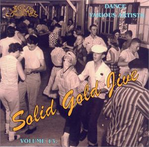 SOLID GOLD JIVE VOL13 - VARIOUS ARTISTS - 1950'S COMPILATIONS CD, LUCKY