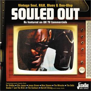 Souled Out - Vintage R&B, Blues & Soul as Featured on UJ TV Commercials - Various Artists - 1950'S COMPILATIONS CD, JASMINE
