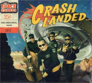 CRASH LANDED - SPACE CADETS - NEO ROCKABILLY CD, TOMBSTONE