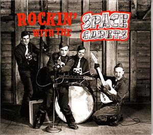 ROCKIN' WITH THE - SPACE CADETS - NEO ROCKABILLY CD, RHYTHM ROCK-IT