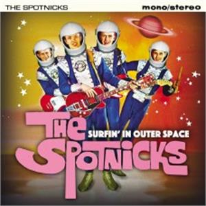 Surfin' In Outer Space - SPOTNICKS - INSTRUMENTALS CD, JASMINE
