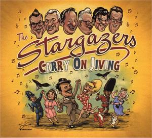 CARRY ON JIVING - STARGAZERS - New Releases CDs, RUBY-TONE