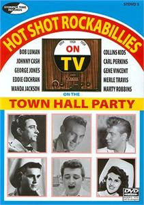 Hot Shot Rockabillies - Town Hall Party - VARIOUS - DVDs DVD'S, STOMPERTIME