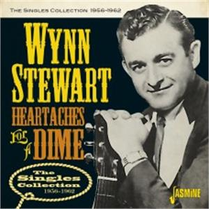 Heartaches for a Dime - The Singles Collection 1956-1962 - Wynn STEWART - HILLBILLY CD, JASMINE