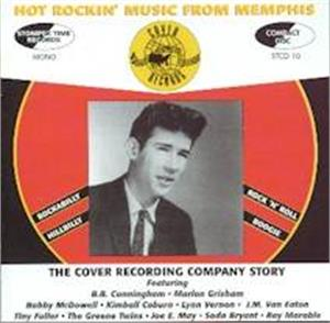 HOT ROCKIN' MUSIC FROM MEMPHIS - VARIOUS ARTISTS - 50's Rockabilly Comp CD, STOMPERTIME