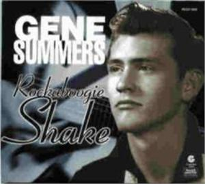 ROCKABILLY SHAKE - GENE SUMMERS - 50's Artists & Groups CD, ROLLERCOASTER