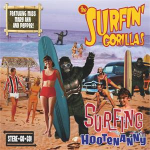 Surfin' Hootenanny - SURFIN GORILLAS - NEO ROCK 'N' ROLL CD, RHYTHM BOMB