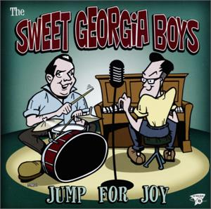 JUMP FOR JOY - SWEET GEORGIA BOYS - NEO ROCK 'N' ROLL CD, FOOTTAPPING