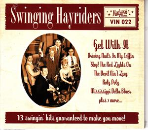 GET WITH IT - SWINGING HAYRIDERS - NEO ROCKABILLY CD, ENVIKEN