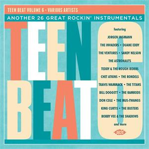 TEENBEAT VOL 6 - Various Artists - INSTRUMENTALS CD, ACE