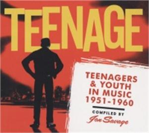 Teenager & Youth In Music 1951-1960 - VARIOUS ARTISTS - 1950'S COMPILATIONS CD, BEAR FAMILY