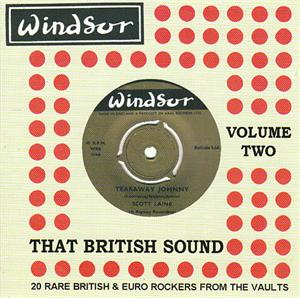 THAT BRITISH SOUND 2 - VARIOUS - BRITISH R'N'R CDs, BLAKEY