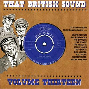 THAT BRITISH SOUND VOL13 - VARIOUS - BRITISH R'N'R CDs, BLAKEY
