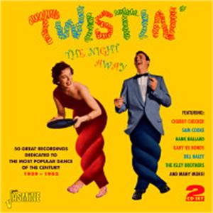 TWISTIN' - VARIOUS - 1950'S COMPILATIONS CDs, JASMINE