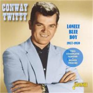 Lonely Blue Boy 1957-1959 - Two Complete Albums + Bonus Tracks - Conway TWITTY - 50's Artists & Groups CD, JASMINE